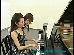 Girl gets fucked at afternoon piano lesson by teacher