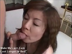 Fucking a horny Japanese housewife