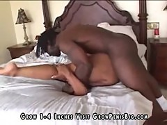 Black girl and black guys in a nice threesome2