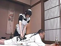 Japanese Maids in Stockings Get Screwed