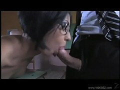 Naughty professor cassy gets a nasty evaluation