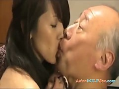 Milf With Tied Arms Fucking With Old Man Cum To Belly On The Mattress In The Roo