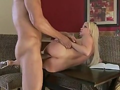 Filthy hairless Diamond Foxxx acquires fucked hard in her ass just what she craved for