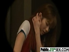 Asians Japanese Getting Hard Fucked In Public video-19