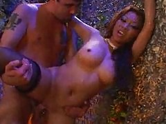 Asian Stripper Jasmine Takes Hard Rammin