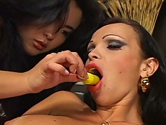 Hot asian drilled by horny tranny