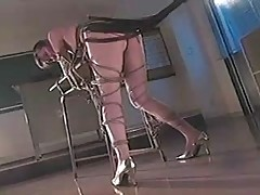 Asian Girl Bondaged and Whipped (1 of 2)