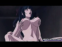 Japanese hentai coed sucking stiff dick and hot fucking in the pool