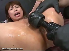 Japanese sex slave forced to orgasm