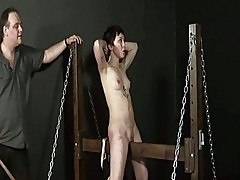 Wooden Horse Torture Of Asian Slaveslut Mei Mara