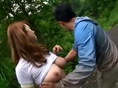 Japanese Outdoor Fucking