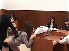 Those Crazy Japanese - Lady Lawyer Laid By Invisible Shadow