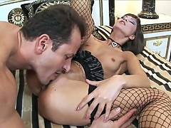 Lovely hoe acquires her dark hole pumped