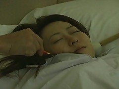 A japanese cute babe forced to do sex