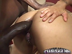 Hot black rod gets a good ass pumping