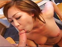 Horny Asian birthday cum cake