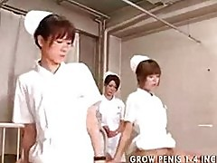 Japanese student nurses training and practice part2